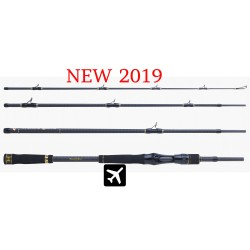 Canne Monster Game Peacock Hearty Rise casting 2.10m 20/85g