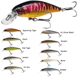 ILLEX SQUAD MINNOW 95 mm 14 gr SILVER BLACK