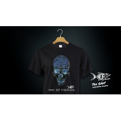 T-Shirt Crâne Scanner Black WAY OF FISHING