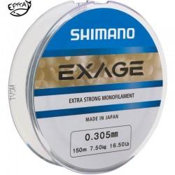 Fils nylon Exage Shimano 150m