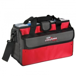 SAC A LEURRE DAM STEEL RED-MOBILE TACKLE BAG