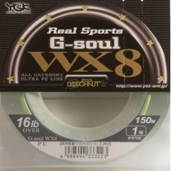 TRESSE YGK G-SOUL WX8 REAL SPORTS